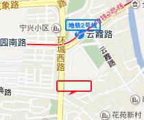 医院路线位置图